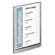 Signalisatiebord A4 Click Sign wit