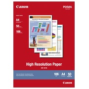 Box 50 sheets of photo paper Canon HR 101 A4