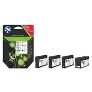 Pack cartridges HP black + color 950XL + 951XL