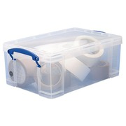 Plastic opbergdoos 9 L Really Useful Box ongekleurd