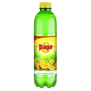 Pack 6 bottles Pago orange juice 1 L