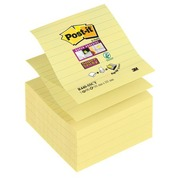 Block 90 yellow Post-it Z-Notes 101 x 101 mm