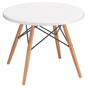 Pack low table + 2 chairs Oréa white