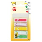 Page markers with arrow Post-it - Dispenser with 100 pieces