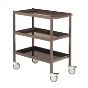 Trolley for workshop 3 metal trays - capacity 150 kg