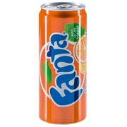 Pak van 24 blikjes Fanta Orange 33 cl