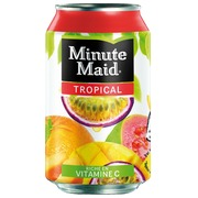 Pak 24 blikjes Minute Maid tropical