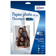 Avery Inkjet Photo Paper A4 180 g - 40 Sheets