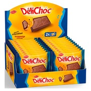 Delacre Délichoc Milk Chocolate Biscuits x 2 - Pocket Size 50g