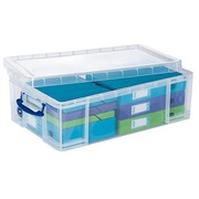 Plastic organisatiebox Really-Useful-Box 50 L kleurloos
