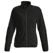 Printer Speedway lady fleece jacket Zwart XS