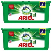 Pack 1 doos Ariel Pods 3-in-1 original + 1 gratis