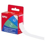 Apli Box of 500 Transparent dots Ø 15 mm