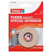 Adhesive tape Tesa double-face for interior use - length 1,5 m