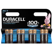 Blister of 8 batteries AA Duracell Ultra Power