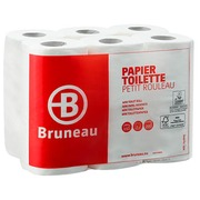 Toilet paper double layered Bruneau - box with 96 rolls of 200 sheets