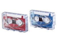 Box 10 mini Philips cassettes 2x15 minutes