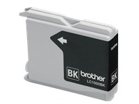 BROTHER LC-1000 inktcartridge zwart standard capacity 2 x 500 pagina's 2-pack (LC1000BKBP2)