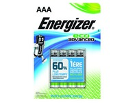 Verpakking met 4 batterijen Energizer Eco Advanced LR03