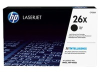 HP 26X cartridge black, high capacity for laserjet