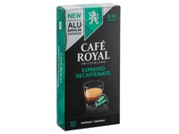 Coffee capsules Café Royal Lungo Decaffeinato - box of 10