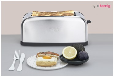 My toaster from €49 ex VAT taxes, services and stamps