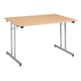 Multipurpose folding table, 120 x 80 cm