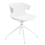 Chair Kove conical undercarriage white